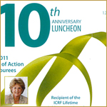 Isreal Cancer Research Fund's 10th Anniversary Luncheon