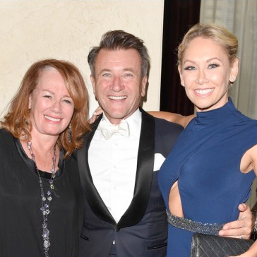 Canada's Dragons, the beautiful Arlene Dickenson and Robert Herjavec and Dancing with the Stars,  Kym Johnson.