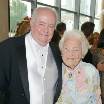 Jim Thomson and Hazel McCallion